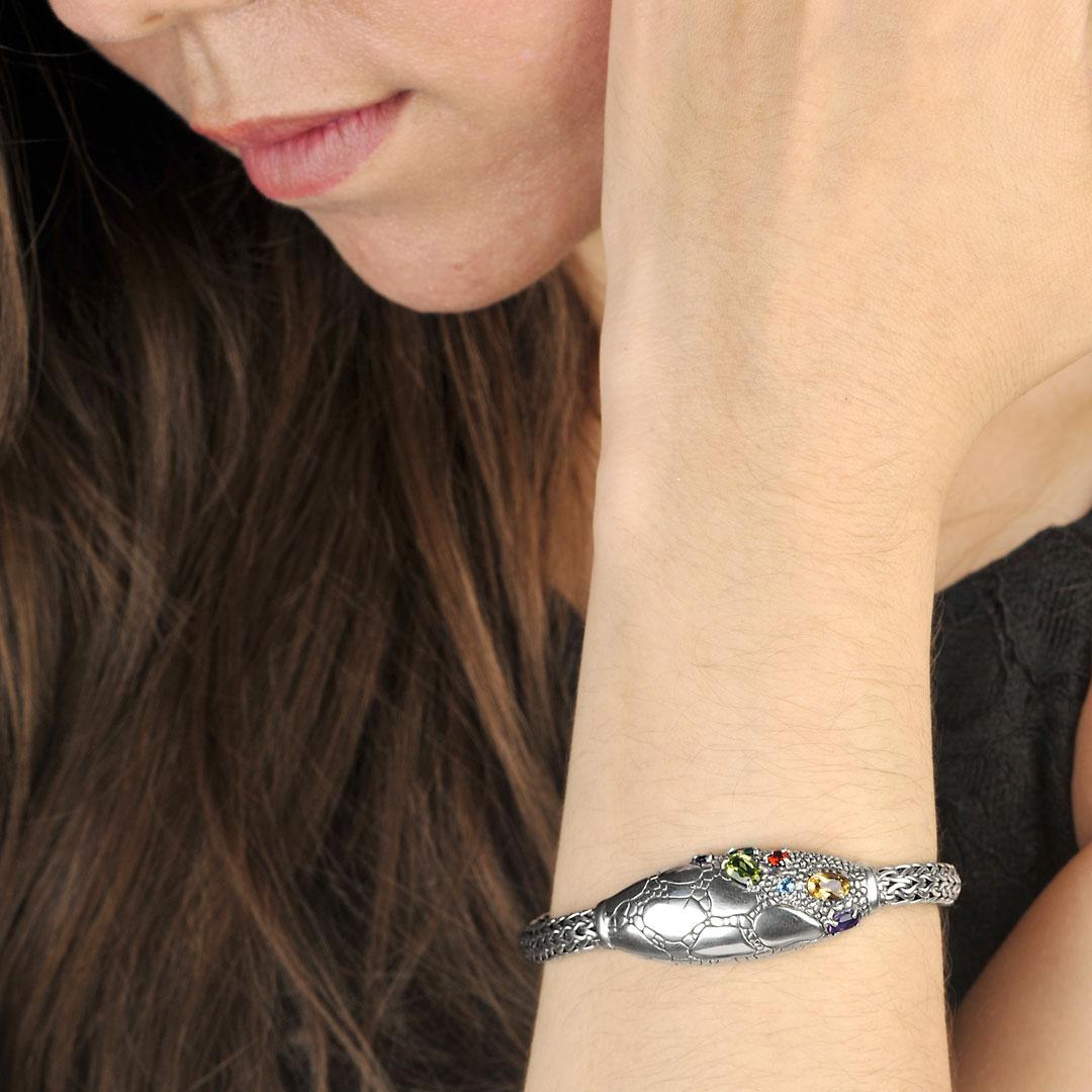 Bali Jewelry Crocodile SB507Sml Gallery 2