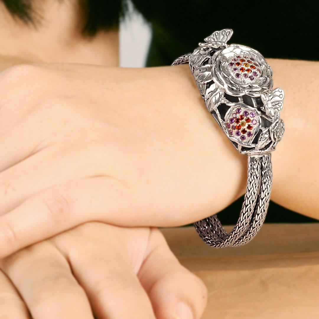 Bali Jewelry Butterfly SB599-2AmCtGa Gallery 2