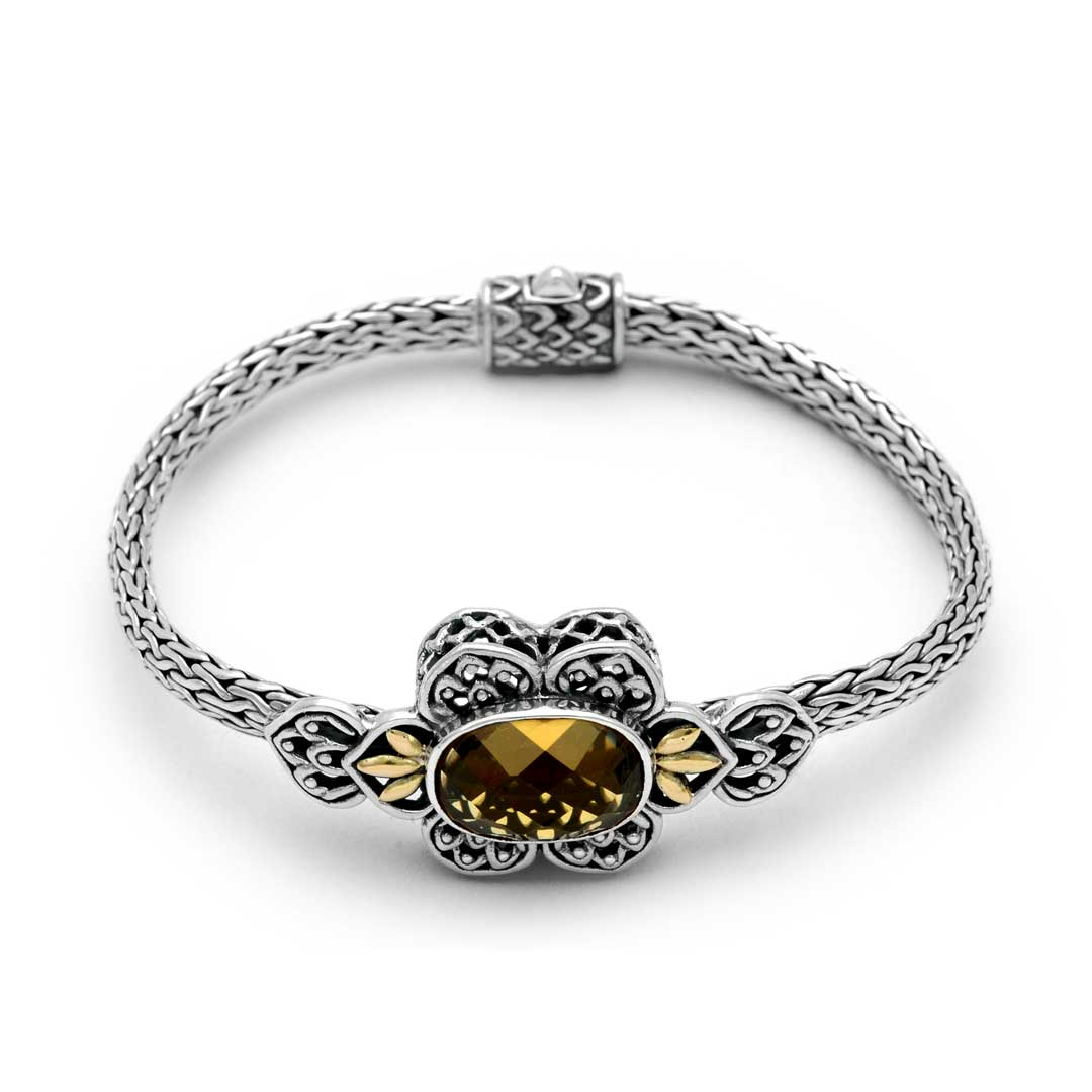 Bali Jewelry Flower SBG084-2Cq Gallery 1