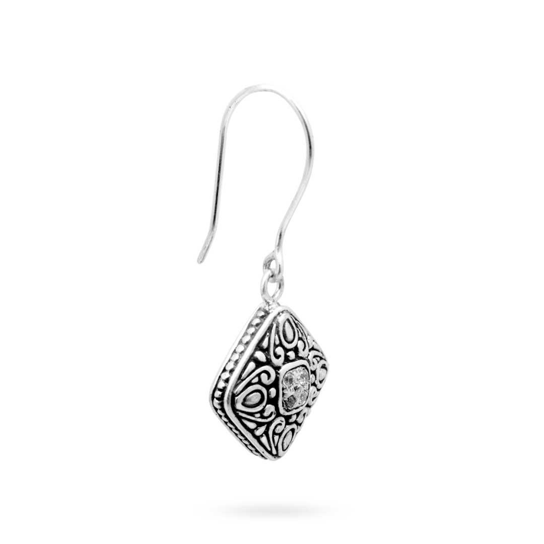 Bali Jewelry Bali Motif SE250-2Cz Gallery 2