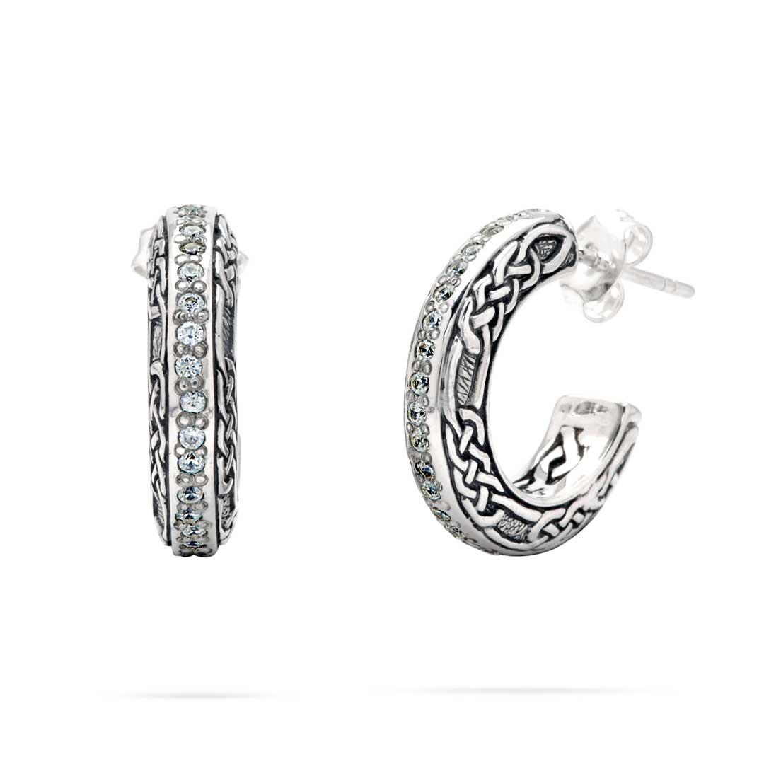 Bali Jewelry Celtic SE816-2Cz Gallery 1