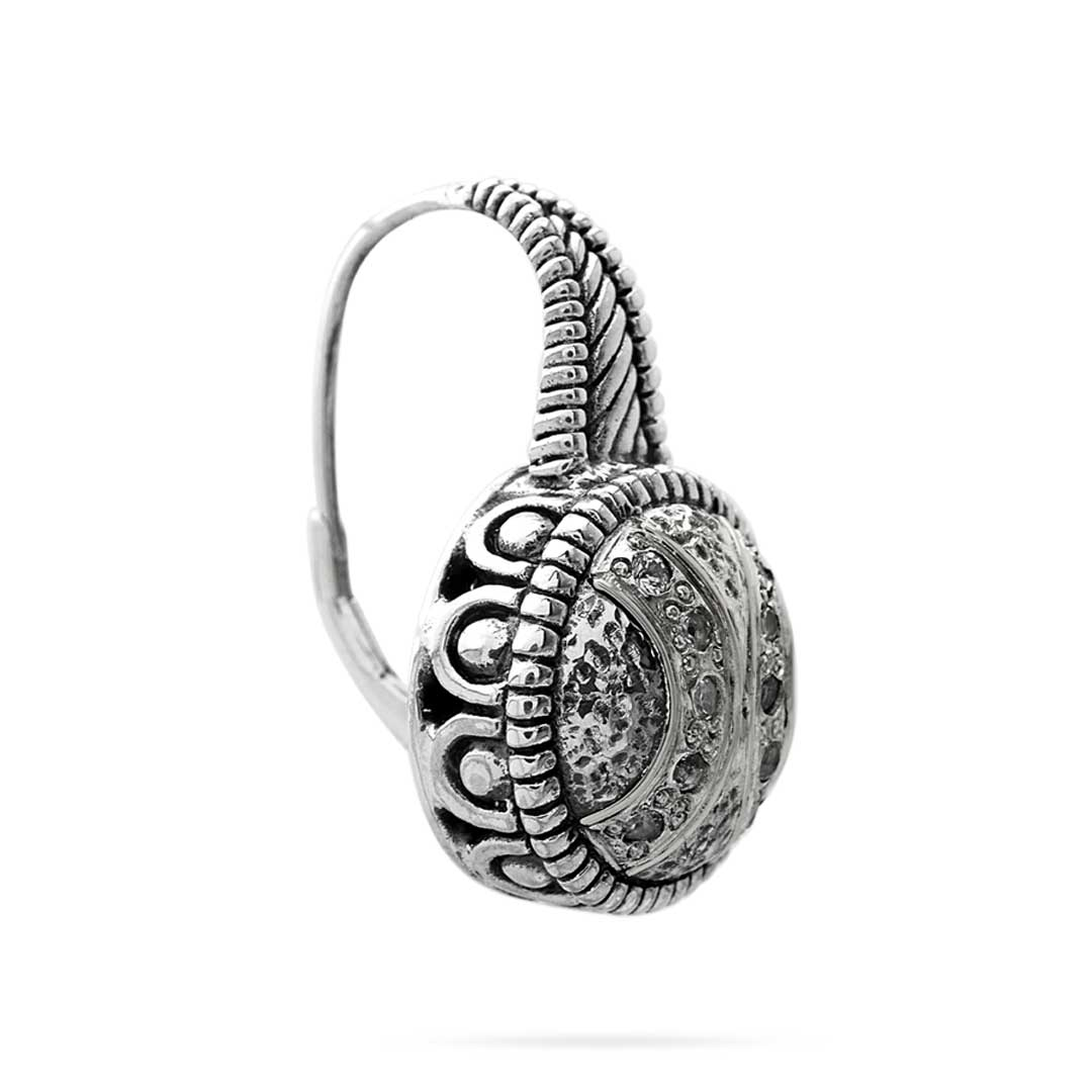 Bali Jewelry Cable SE826-1Wt Gallery 2