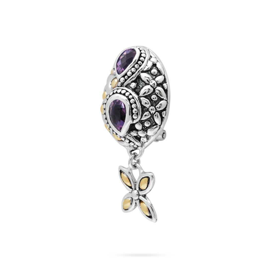 Bali Jewelry Flower SEG660-1Am Gallery 2