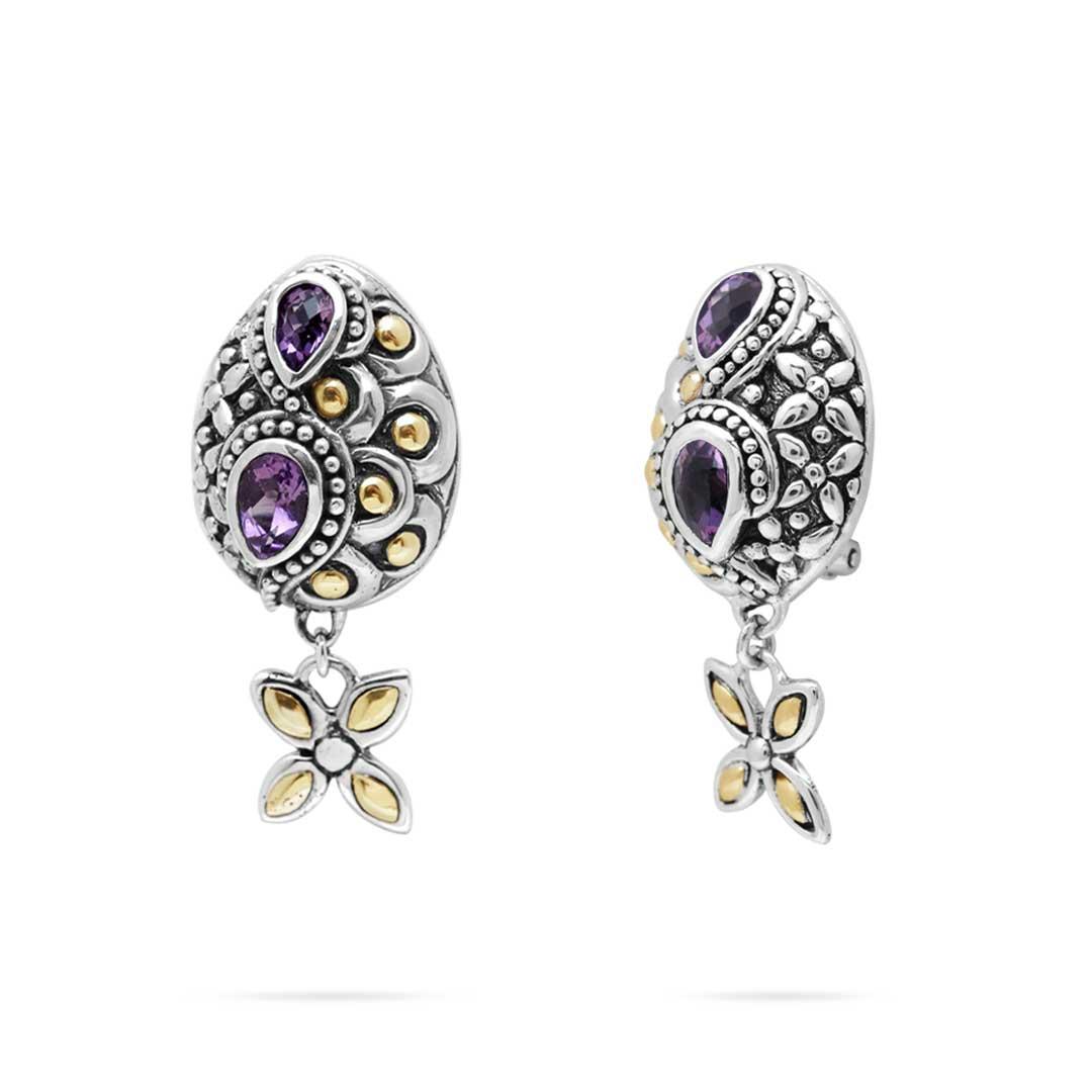 Bali Jewelry Flower SEG660-1Am Gallery 1