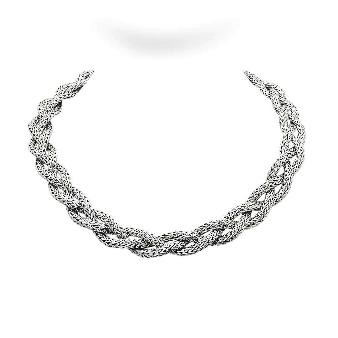 Bali Jewelry Chain SN006-35-Braided Gallery 1