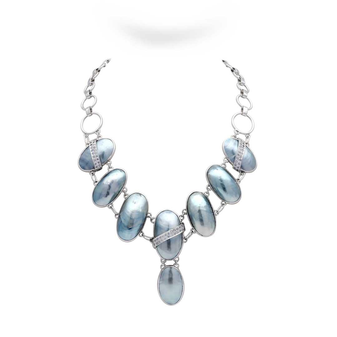 Bali Jewelry Plain SN063CkCz Gallery 1