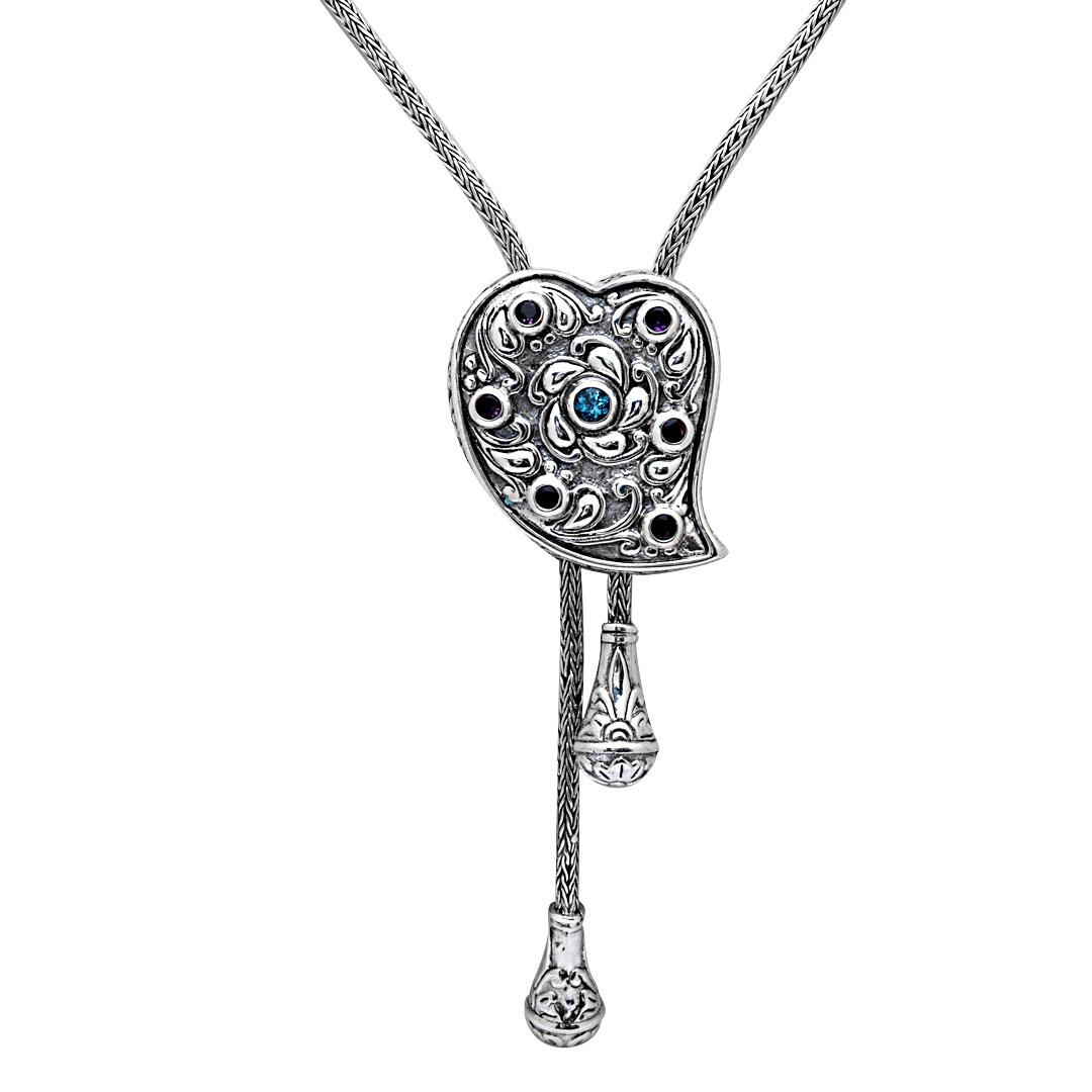 Bali Jewelry Bali Motif SN235BtAm Gallery 2