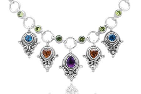 Bali Jewelry Bali Motif SN500-1Mix Gallery 2
