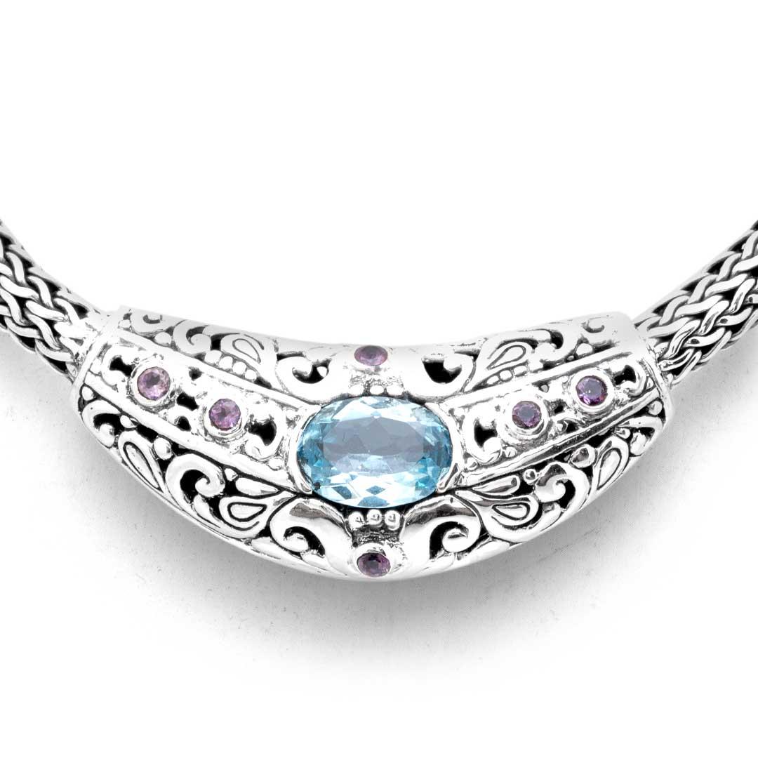 Bali Jewelry Bali Motif SN503BqAm Gallery 2