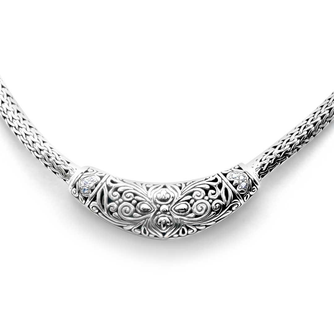 Bali Jewelry Bali Motif SN526Cz Gallery 2