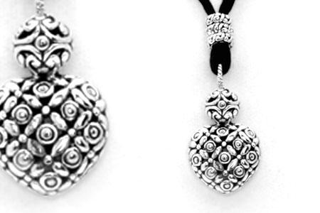 Bali Jewelry Flower SN586-5 Gallery 2