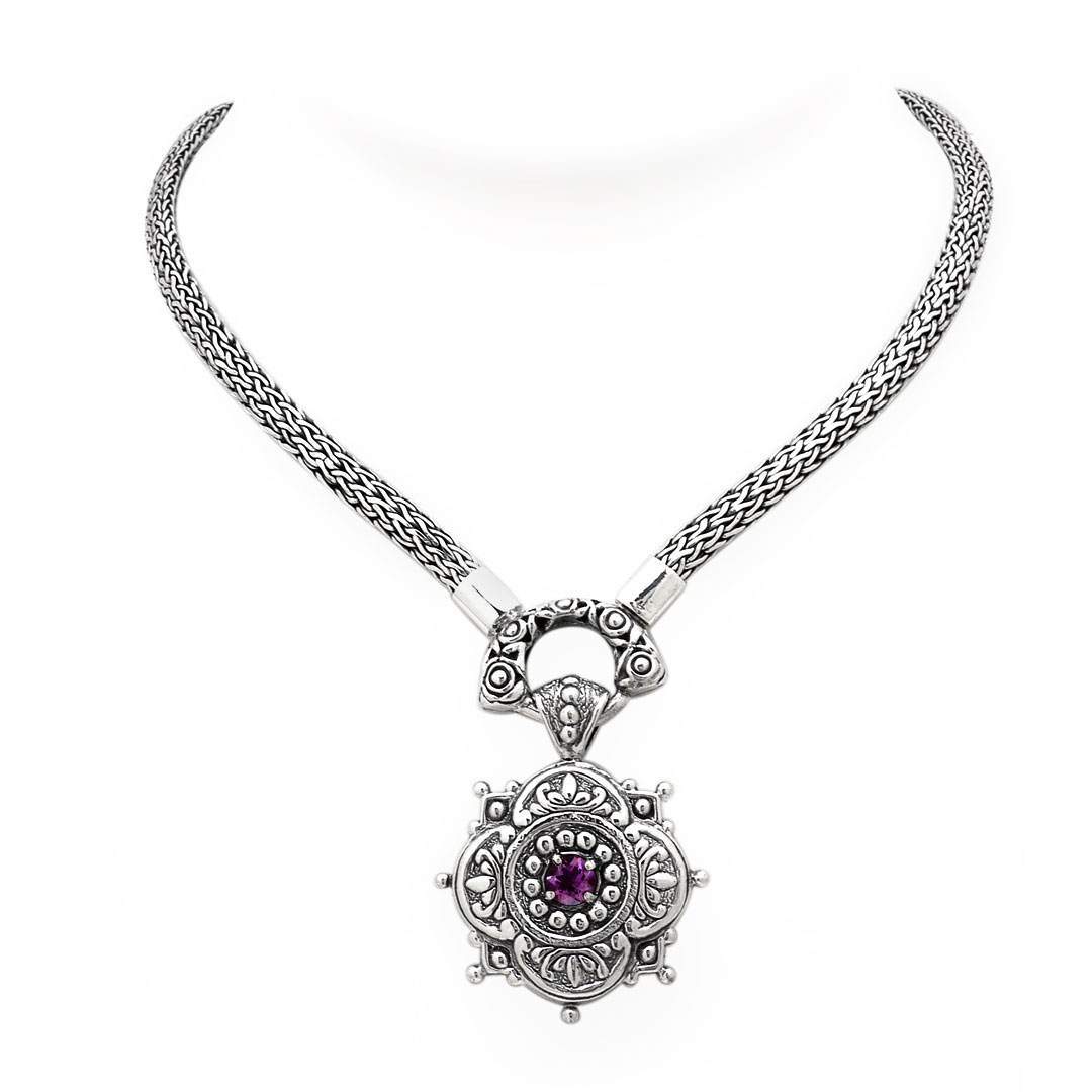 Bali Jewelry Bali Motif SN595BtAm Gallery 1