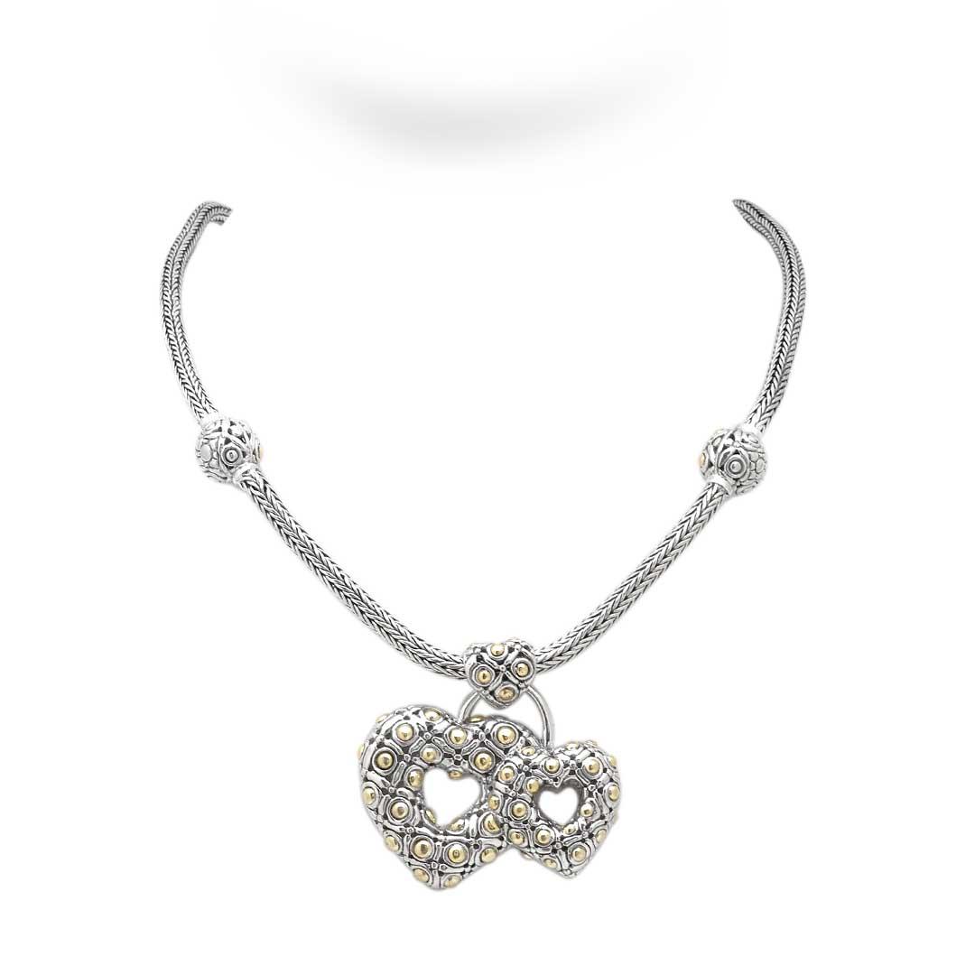 Bali Jewelry Flower SNG172-1 Gallery 1