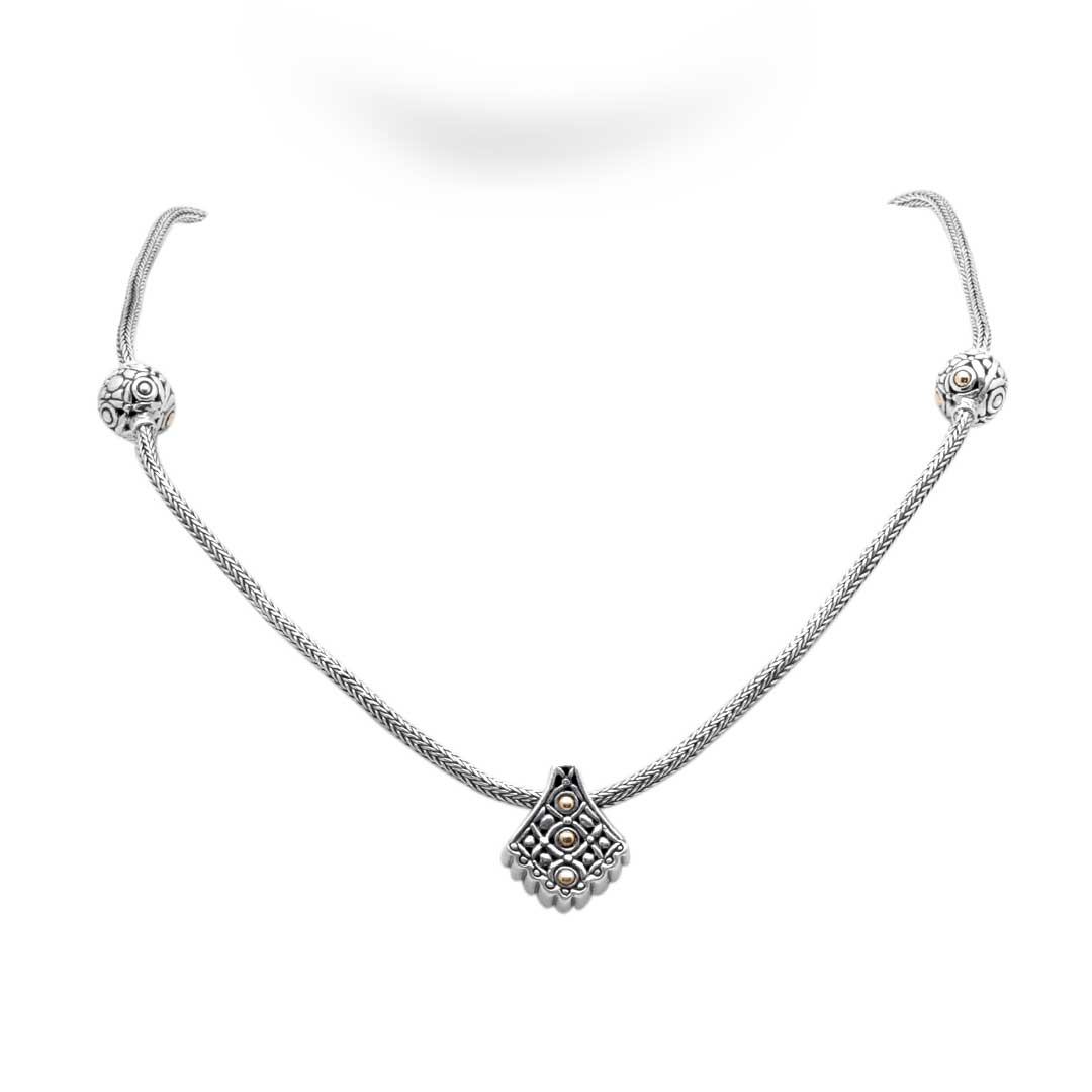 Bali Jewelry Flower SNG172-2 Gallery 1