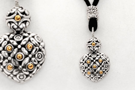 Bali Jewelry Flower SNG586-5 Gallery 2