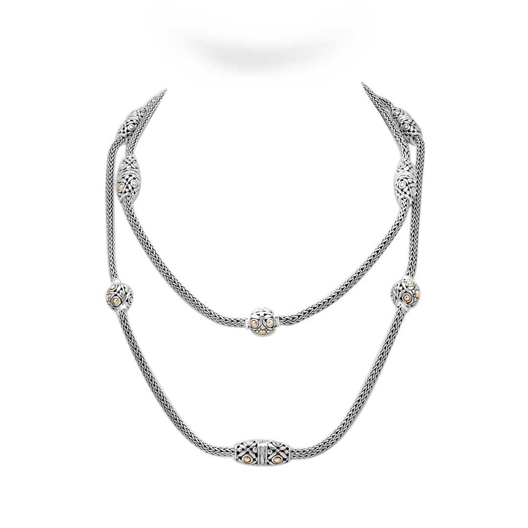 Bali Jewelry Flower SNG605-1 Gallery 1