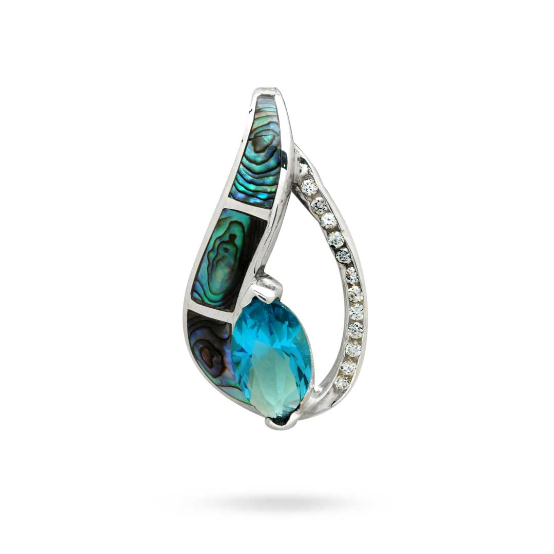 Bali Jewelry Plain SP348-2BtCz Gallery 1