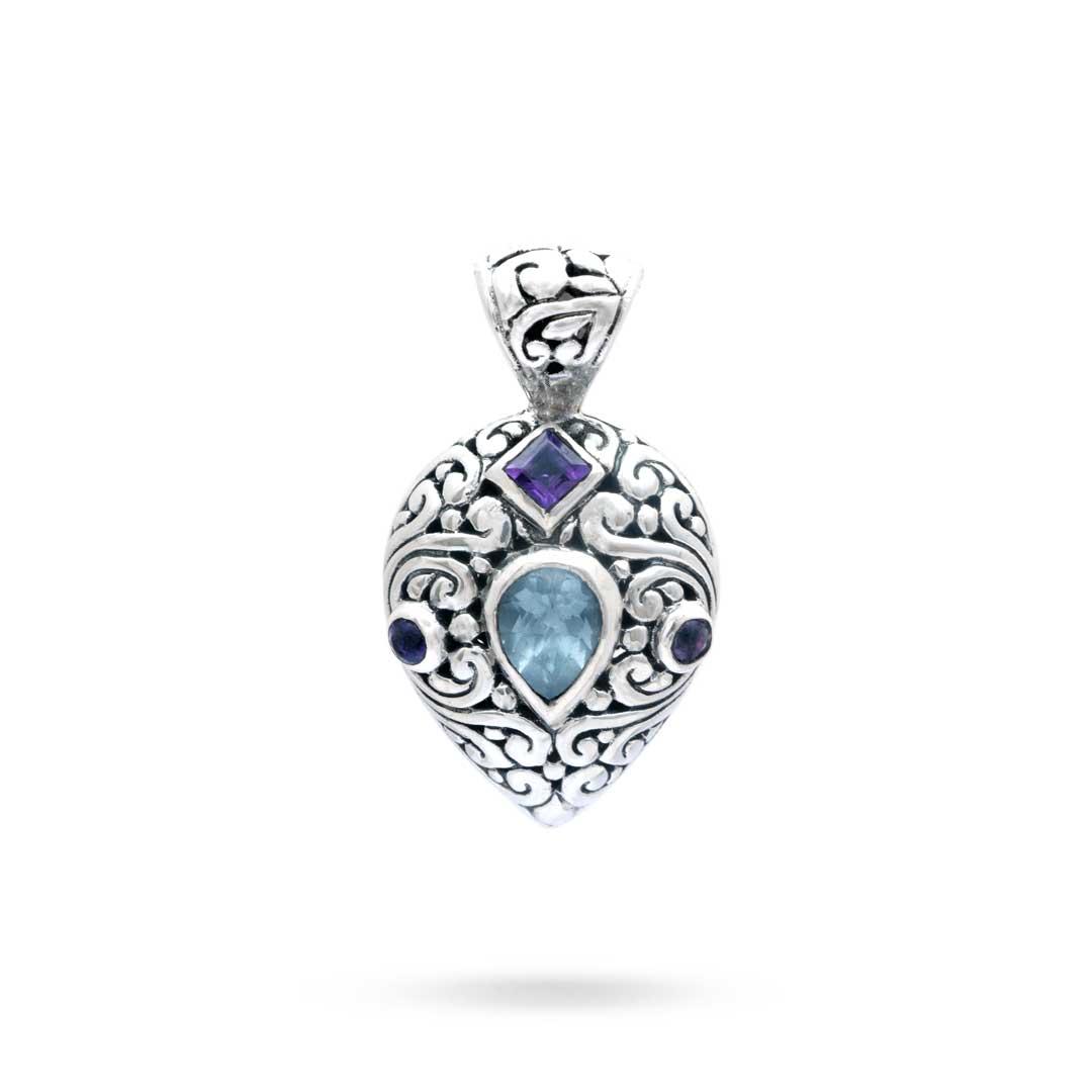 Bali Jewelry Bali Motif SP546AmBt Gallery 1