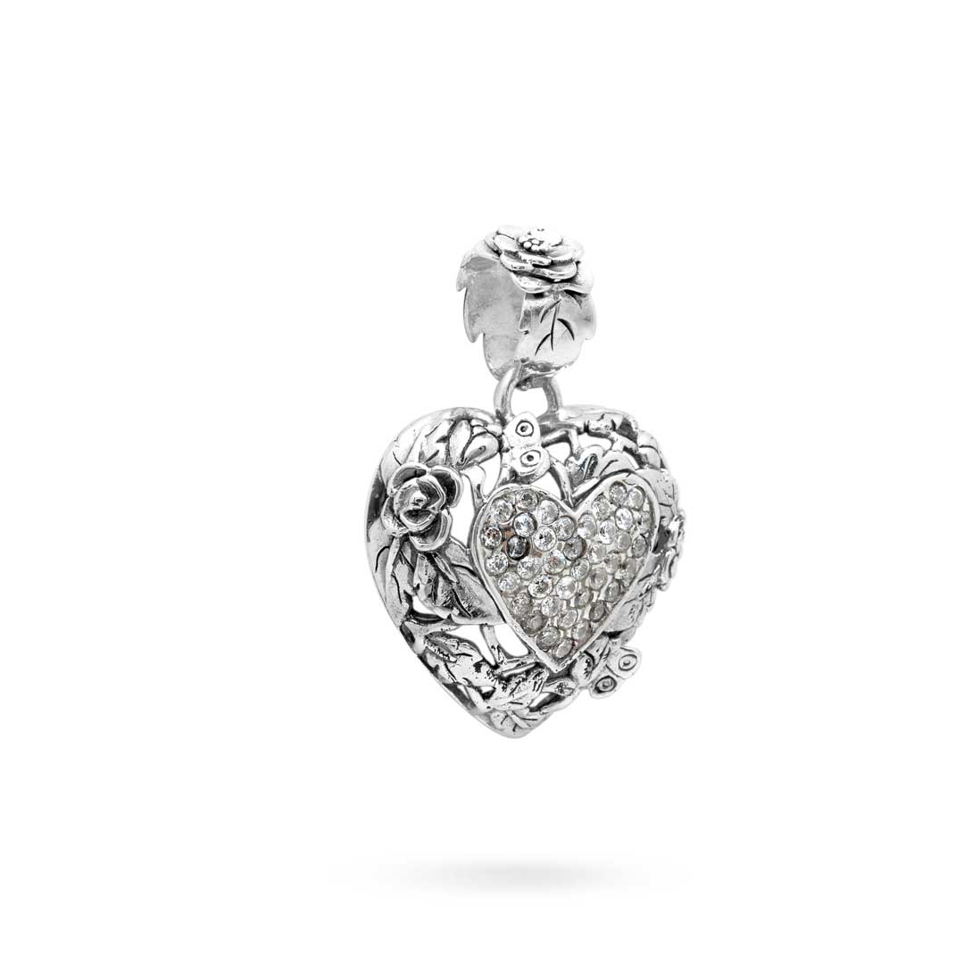 Bali Jewelry Butterfly SP613-1Cz Gallery 2