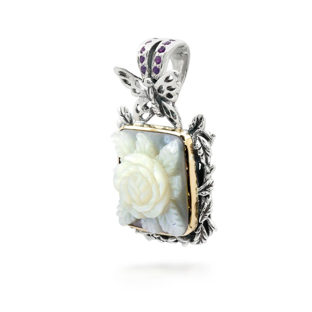 Bali Jewelry Butterfly SPG600-9MopAm Gallery 2