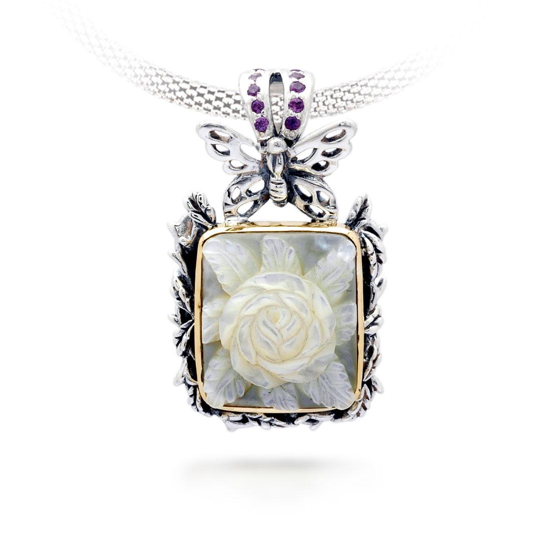 Bali Jewelry Butterfly SPG600-9MopAm Gallery 1