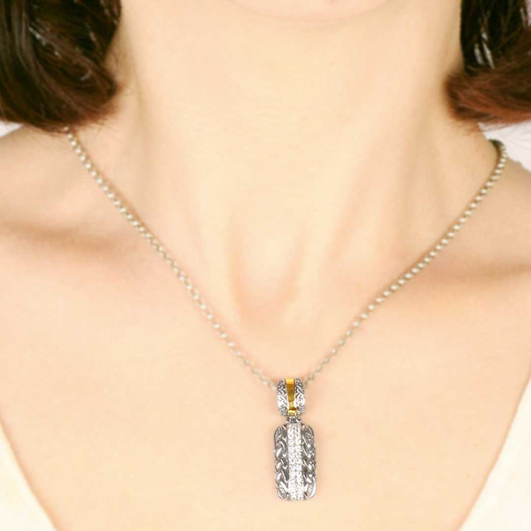 Bali Jewelry Celtic SPG816-4Cz Gallery 2