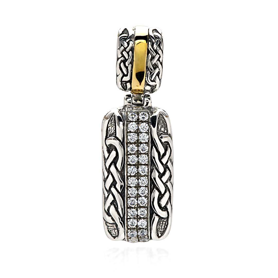 Bali Jewelry Celtic SPG816-4Cz Gallery 1