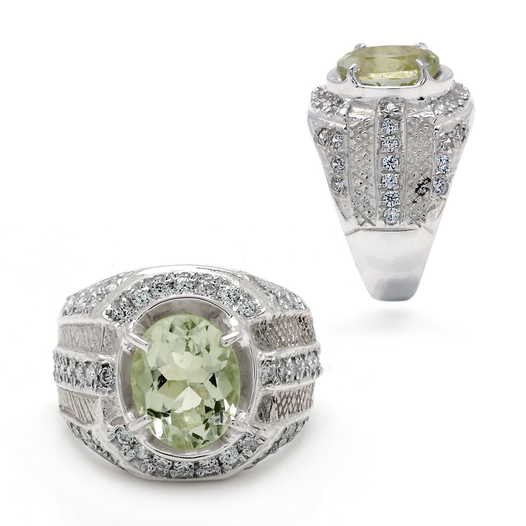 Bali Jewelry Plain SR080-36Gam Gallery 1