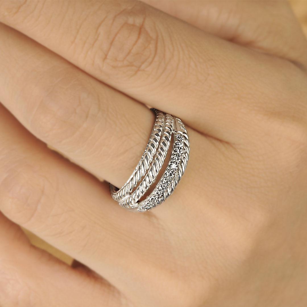 Bali Jewelry Plain SR080-37Cz Gallery 2