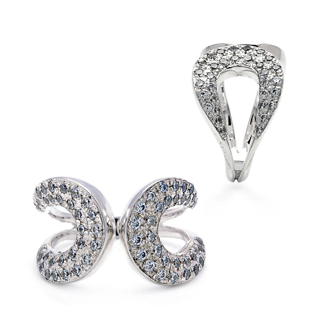 Bali Jewelry Plain SR080-40Cz Gallery 1