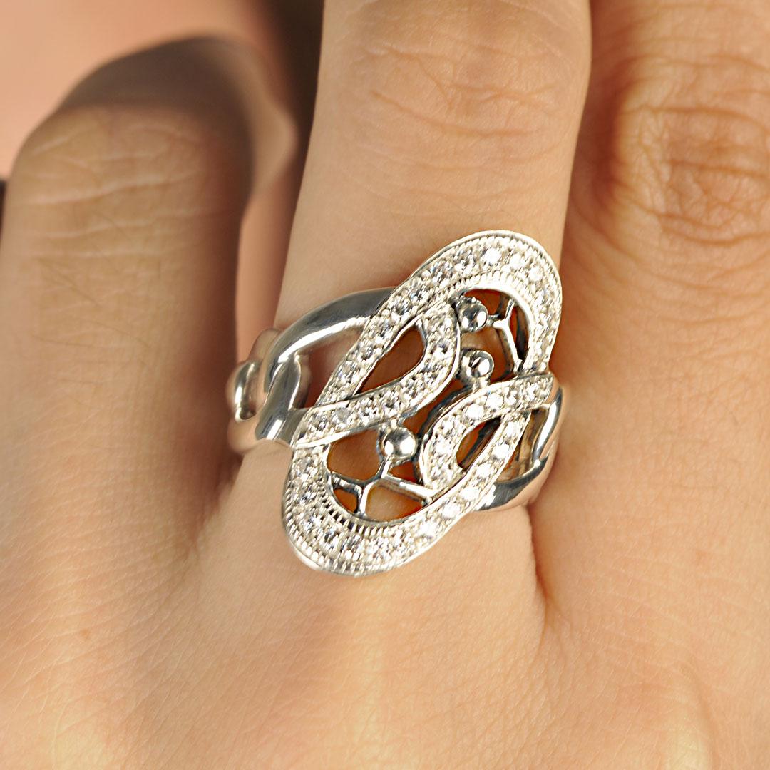 Bali Jewelry Plain SR080-51Cz Gallery 2