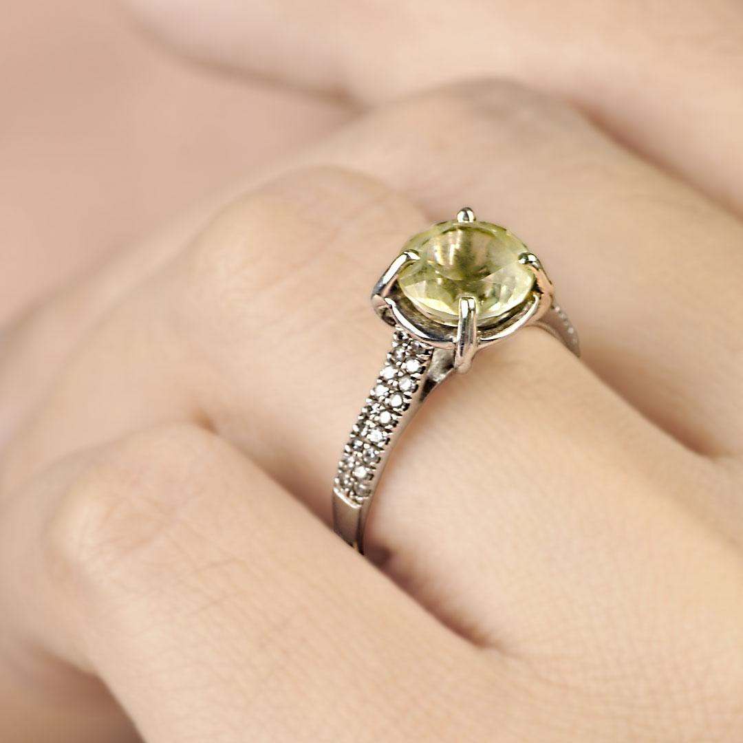 Bali Jewelry Plain SR080-9GamCz Gallery 2