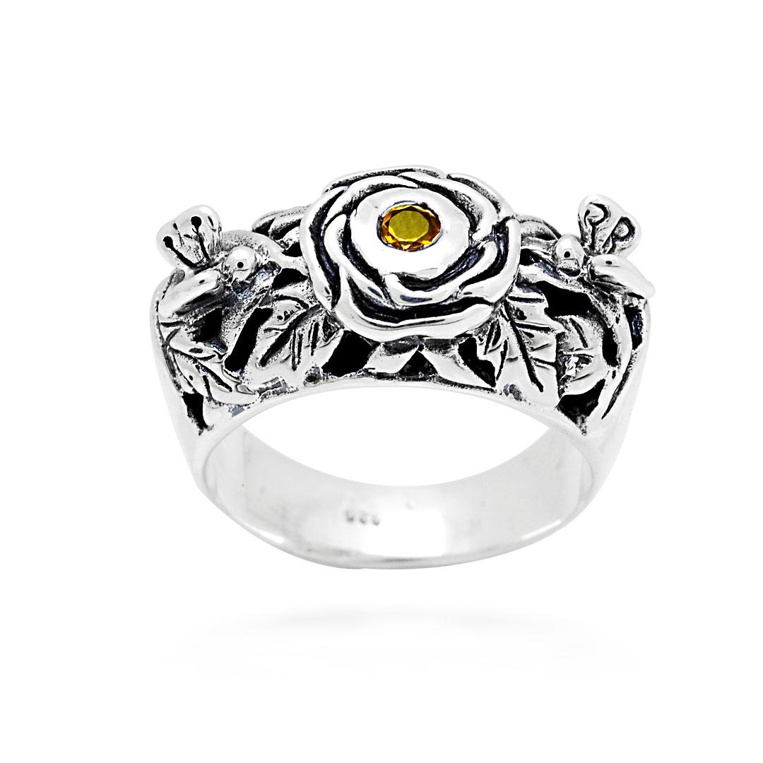 Bali Jewelry Butterfly SR599-3Ct Gallery 2