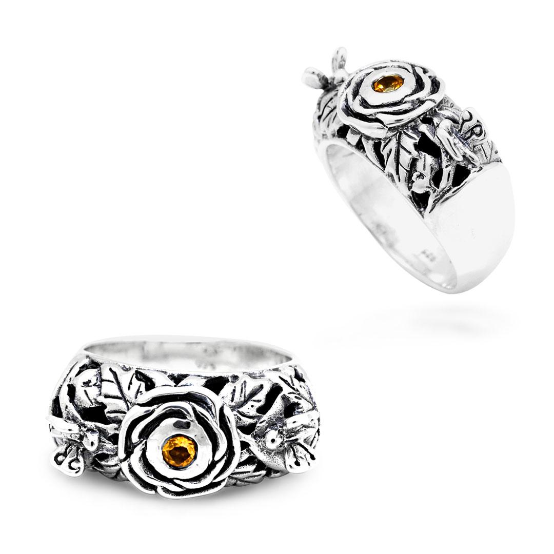 Bali Jewelry Butterfly SR599-3Ct Gallery 1