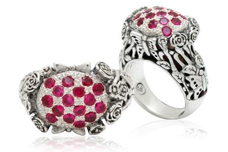 Bali Jewelry Butterfly SR599RbCz Gallery 1