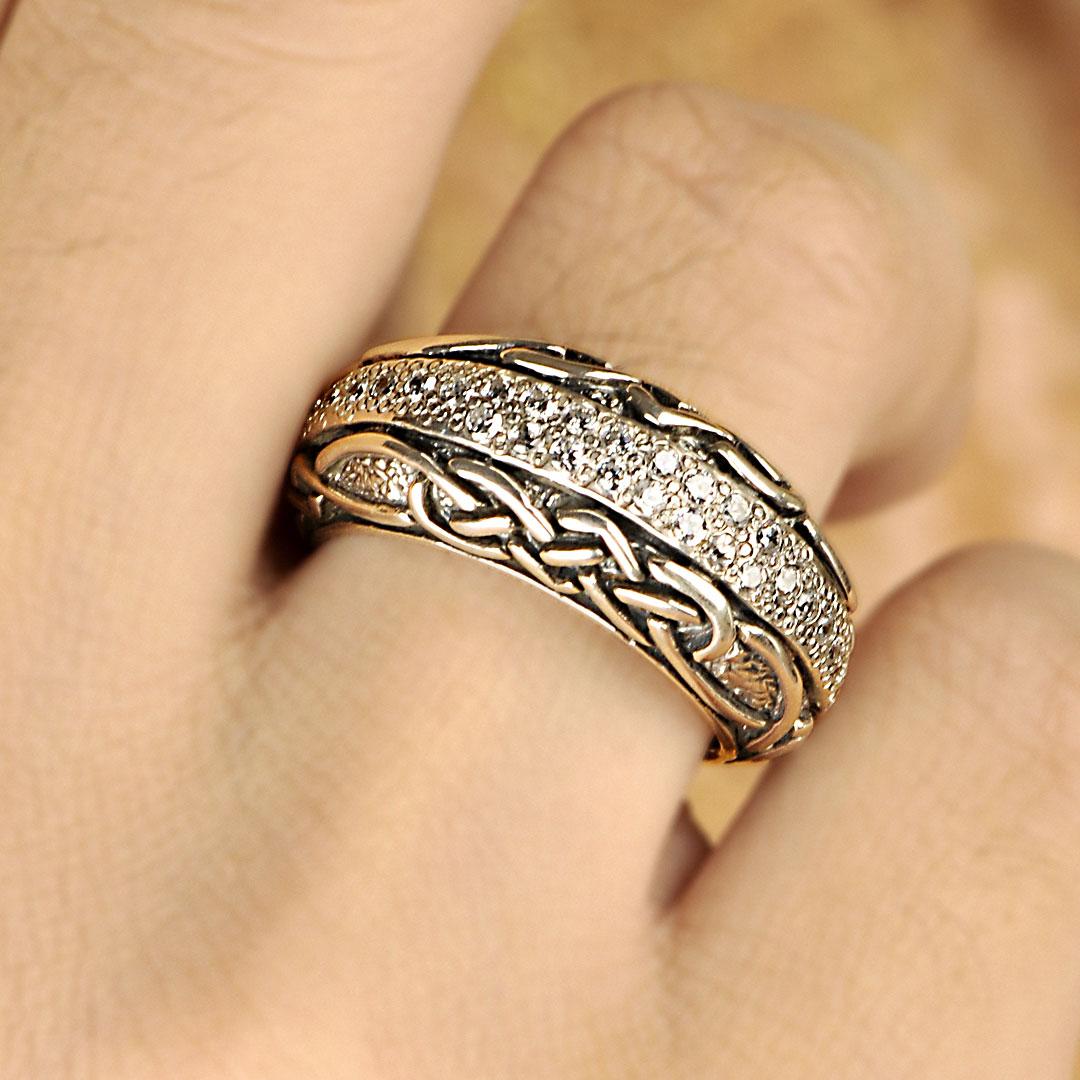 Bali Jewelry Celtic SR816-4Cz Gallery 2