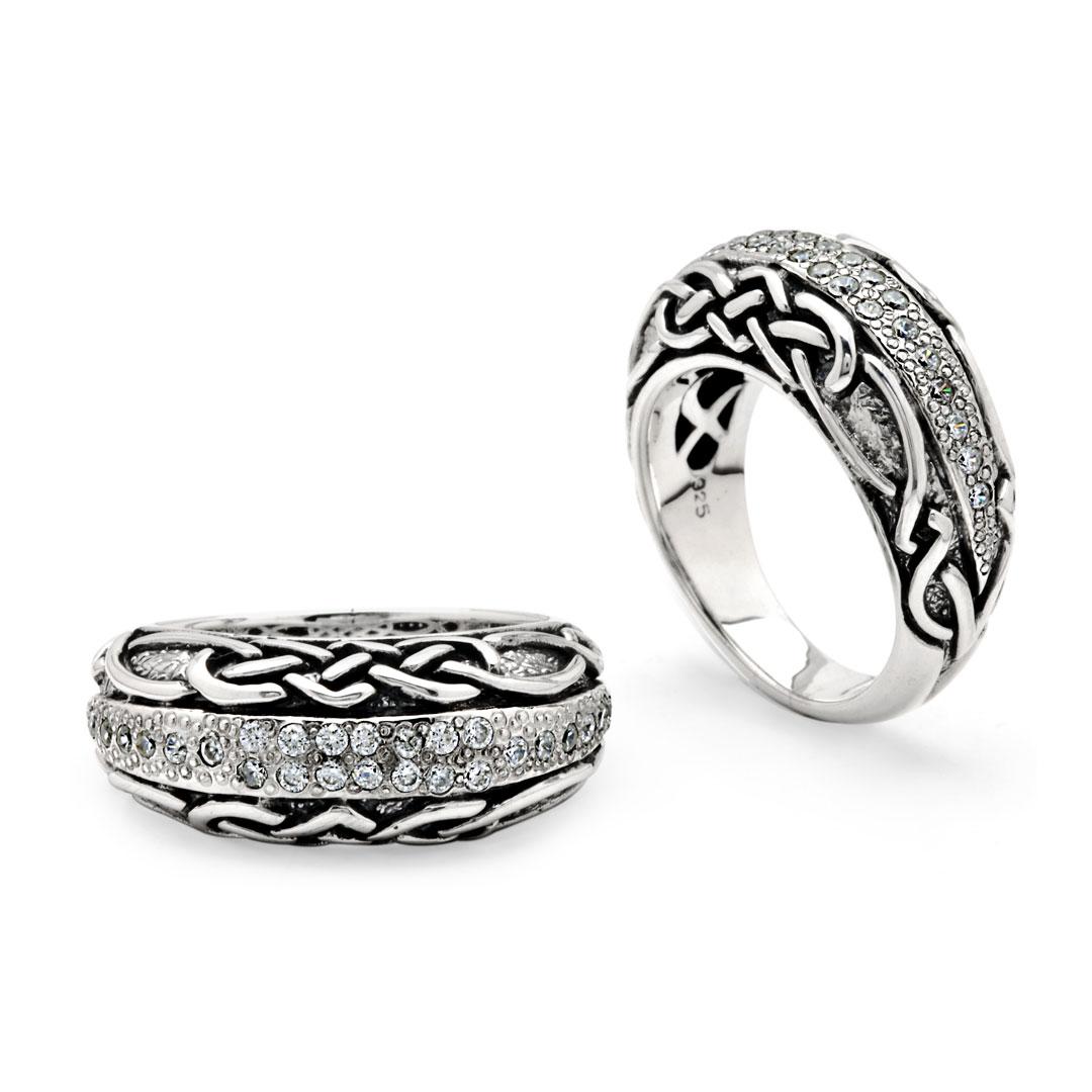 Bali Jewelry Celtic SR816-4Cz Gallery 1