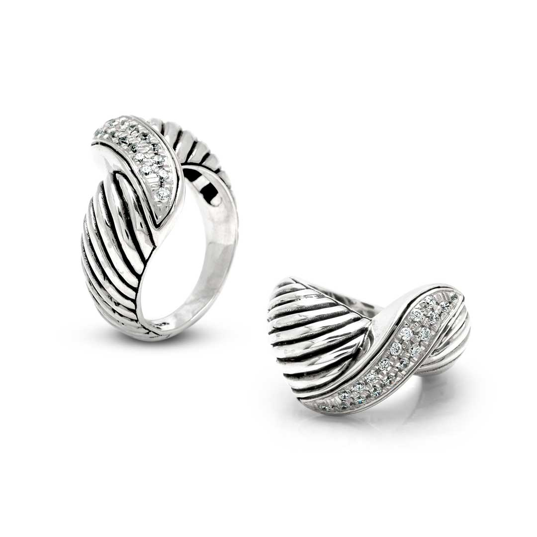Bali Jewelry Cable SR824-8Cz Gallery 1
