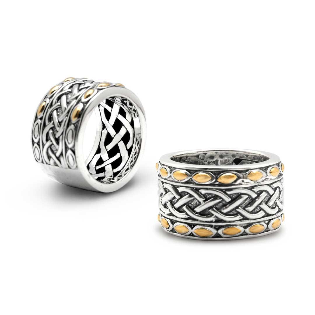 Bali Jewelry Celtic SRG054-10 Gallery 1