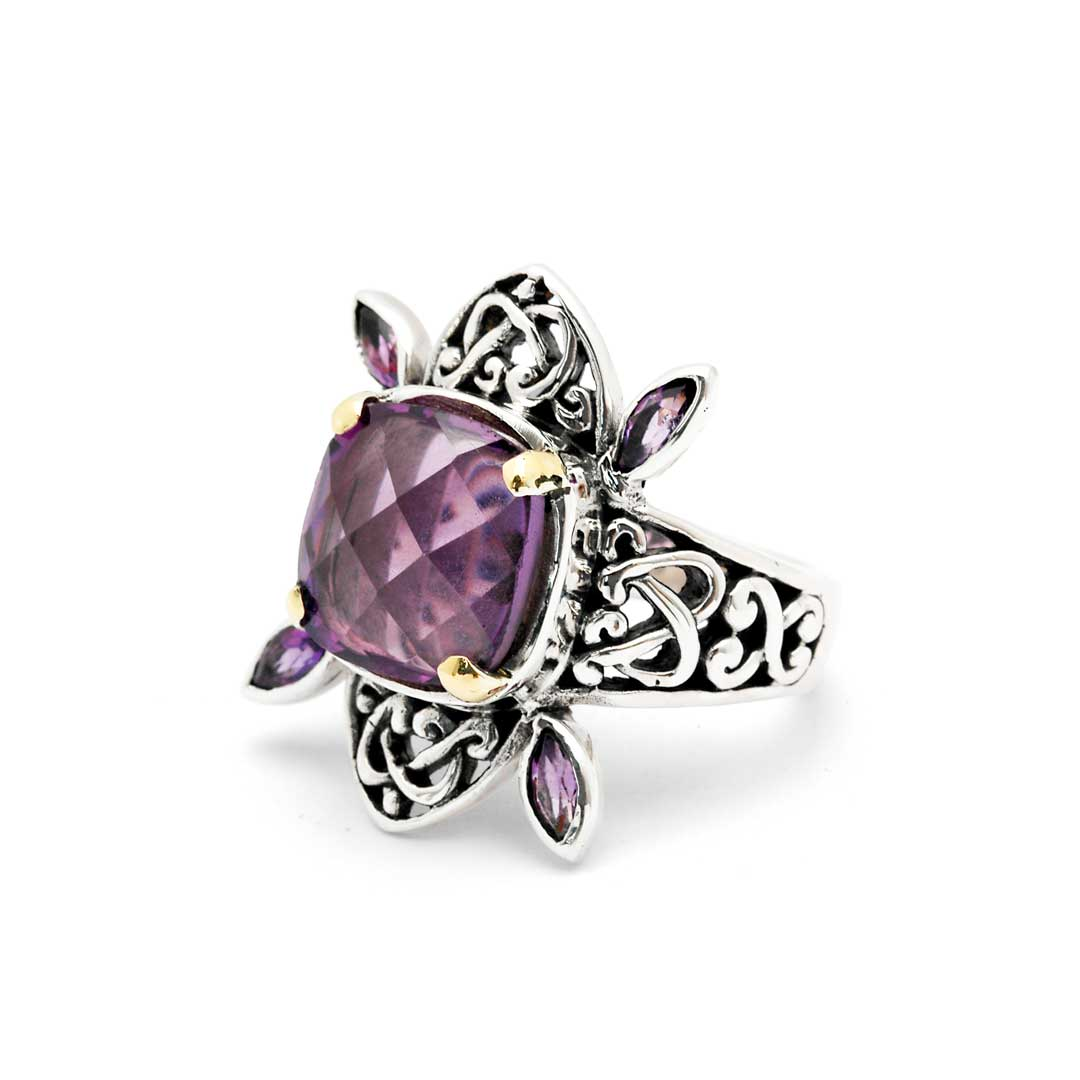 Bali Jewelry Celtic SRG054-4Amq Gallery 2