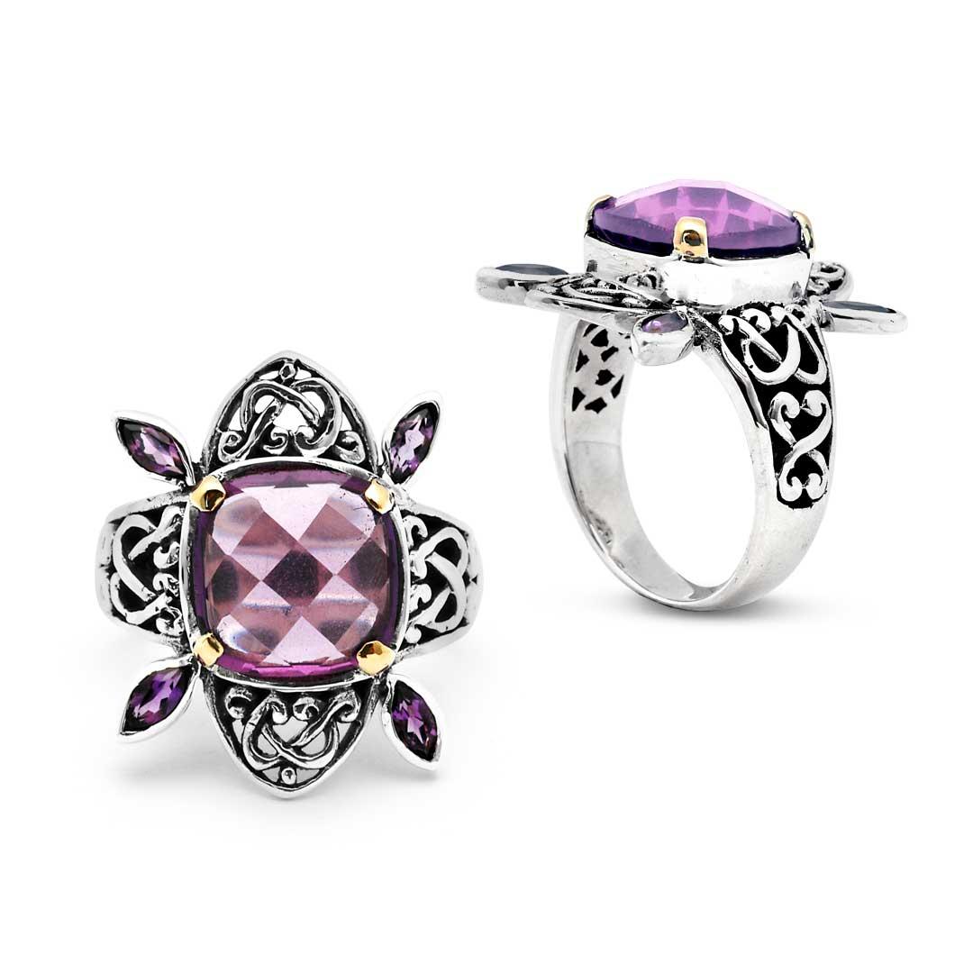 Bali Jewelry Celtic SRG054-4Amq Gallery 1