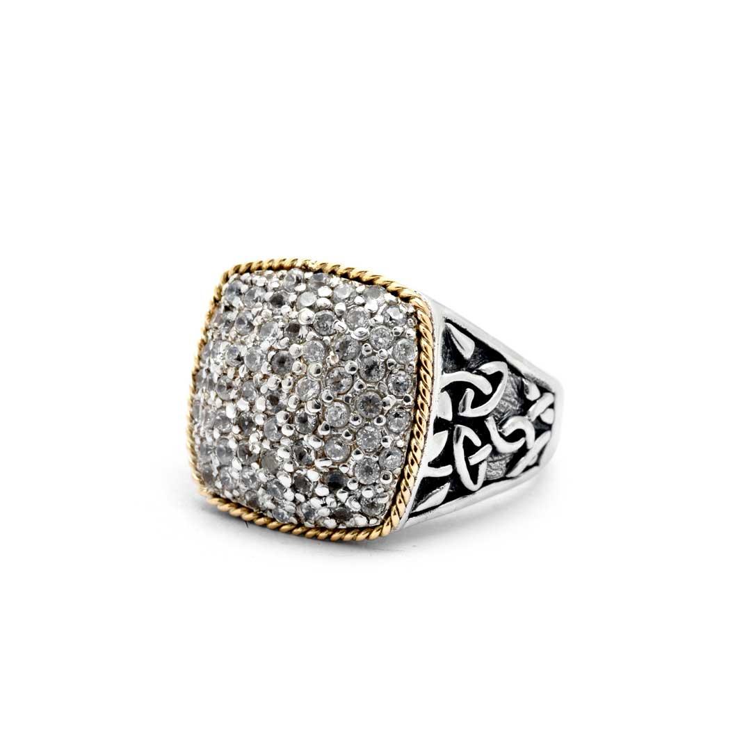 Bali Jewelry Celtic SRG701-13Cz Gallery 2