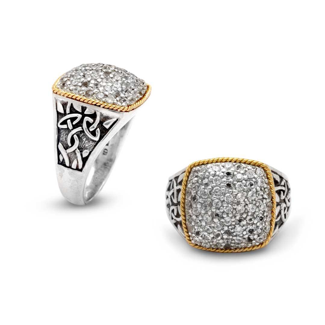Bali Jewelry Celtic SRG701-13Cz Gallery 1