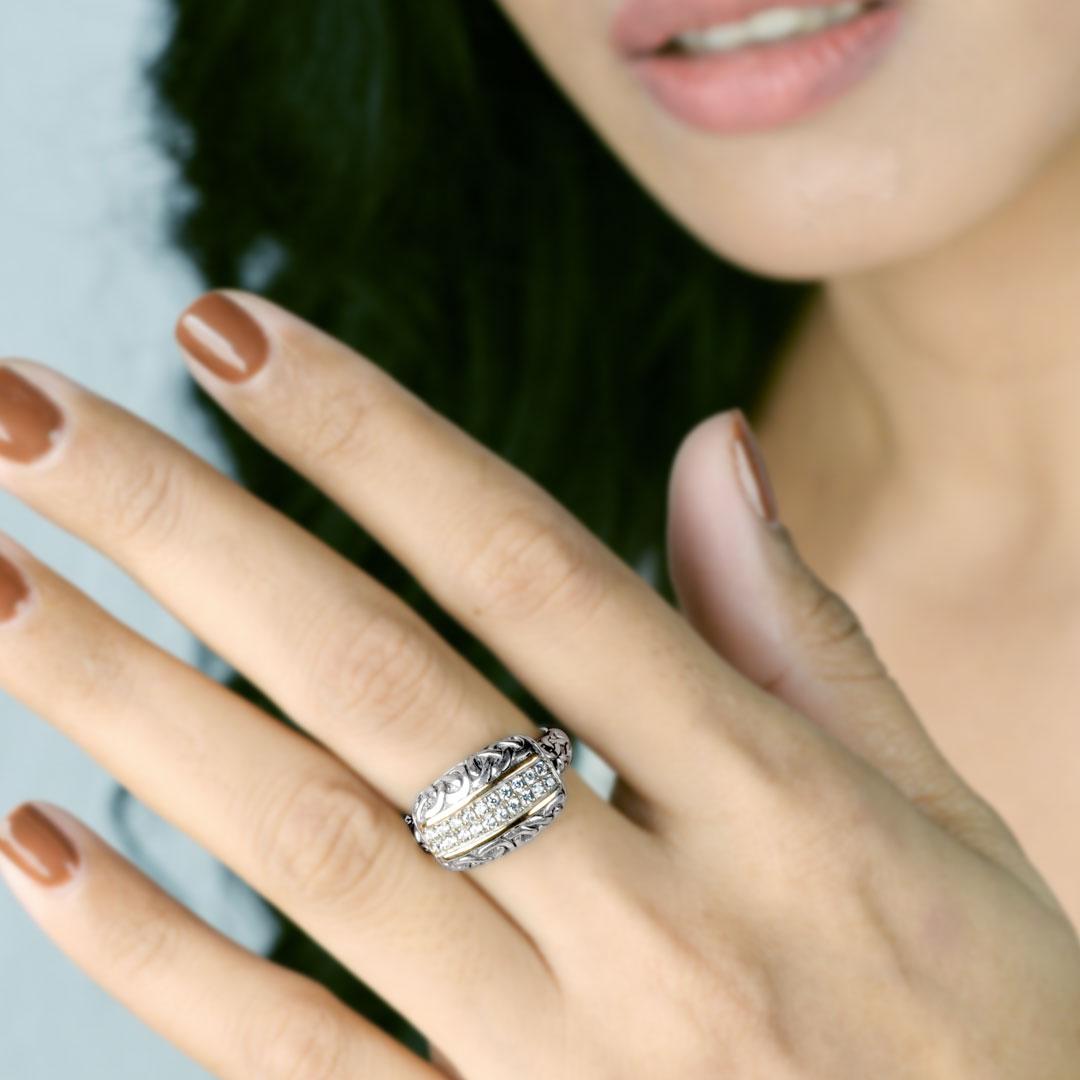Bali Jewelry Celtic SRG816-5Cz Gallery 2